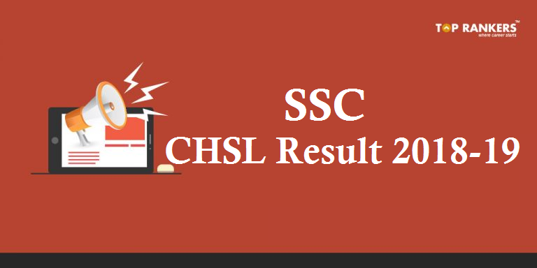 SSC CHSL Tier 2 Result 2018-19
