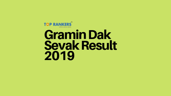 Gramin Dak Sevak Result 2019 Link Active - Check Here