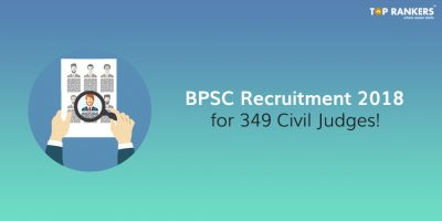 BPSC Recruitment 2018 for 349 Civil Judges!