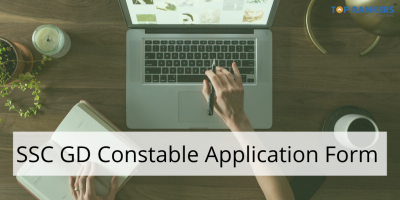 SSC GD Constable Application Form 2020