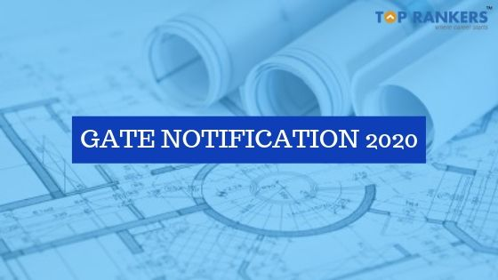 GATE Notification 2020