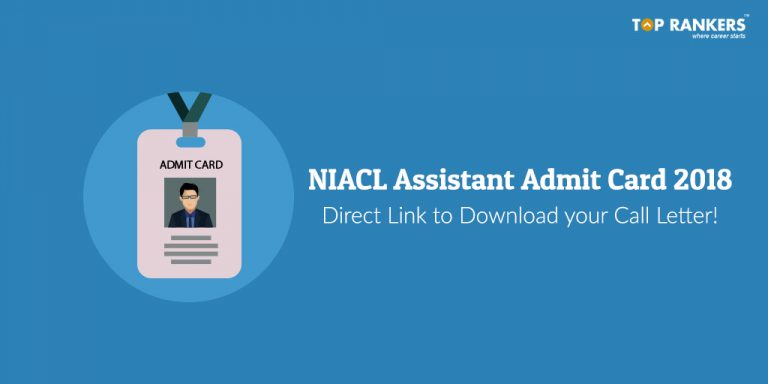NIACL Assistant Admit Card 2018