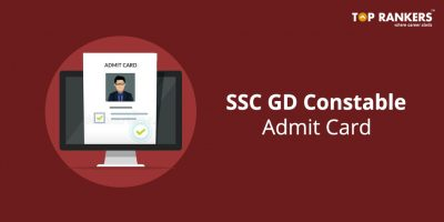 SSC GD Constable Admit Card 2018-19 for Northern Region (NR) Released Now!