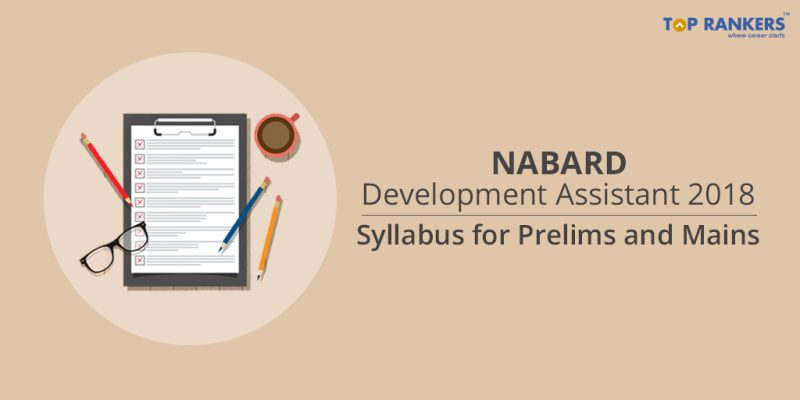 NABARD Development Assistant Syllabus 2018