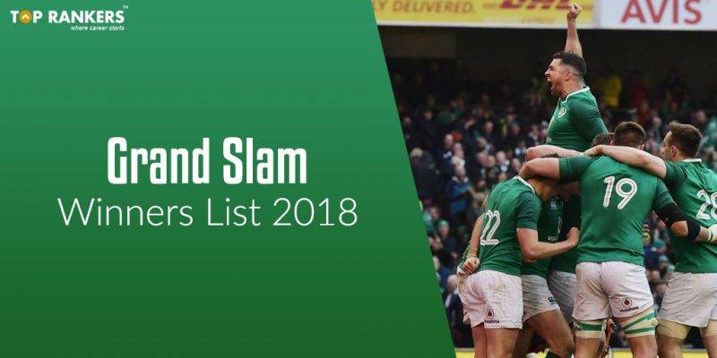 Grand Slam Winners List 2018