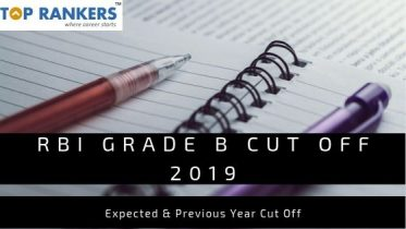 RBI Grade B Cut Off 2019