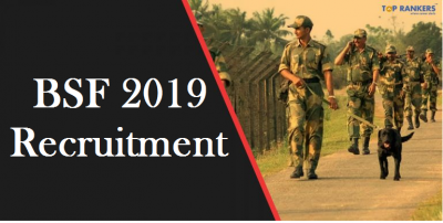 BSF Recruitment 2019 | Application for 1072 Head Constable started