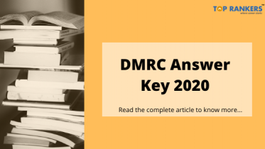 DMRC Answer Key 2020:Check Answer Key PDF