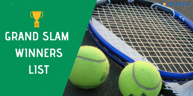 grand slam winners list
