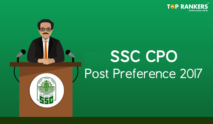 SSC CPO Post Preference