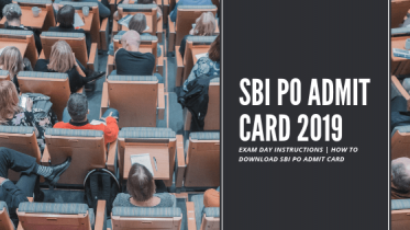 SBI PO Admit Card 2019 Released for Prelims Exam