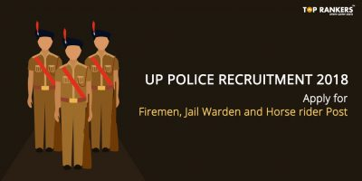 UP Police Recruitment 2018 – Apply for Multiple Post