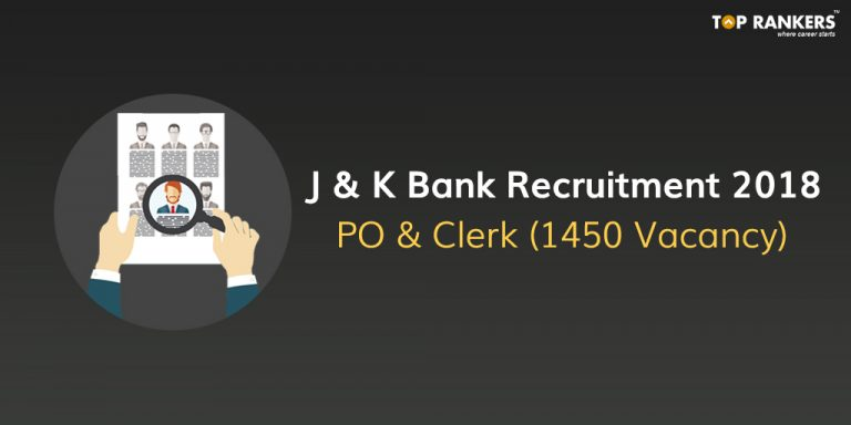 JK Bank PO & Clerk Recruitment 2018