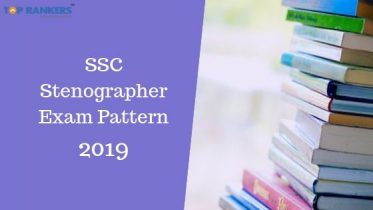 SSC Stenographer Exam Pattern 2019