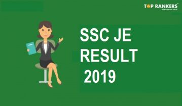 SSC JE Result 2019 | Cut Off and Merit List