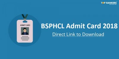 BSPHCL Admit Card 2018 Released | Direct Link to download Hall Ticket!