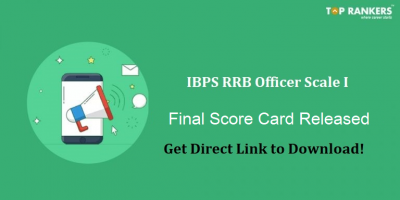 IBPS RRB Mains Score Card of Interview Candidates Released