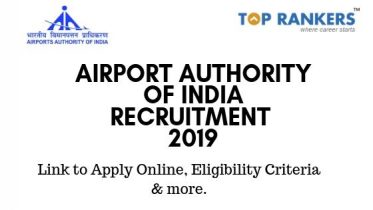 Airport Authority of India Recruitment 2019 – Apply Online for 311 Vacancies
