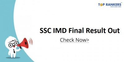Final SSC IMD Scientific Assistant 2017 Result out | Download Result PDF Here