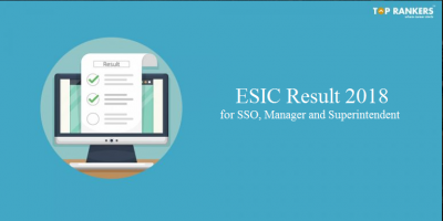 ESIC Result for SSO 2018 | released @ esic.nic.in!