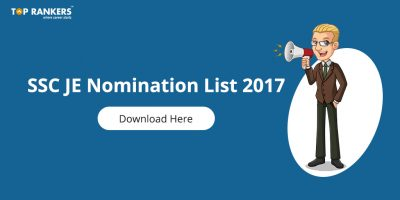 SSC JE Nomination List 2017 Out | Download Region-wise List in PDF