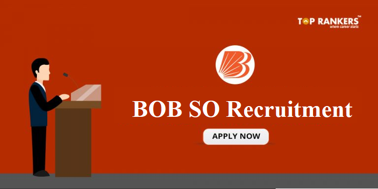 BOB SO Recruitment 2018