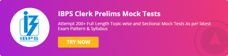 ibps clerk prelims mock test
