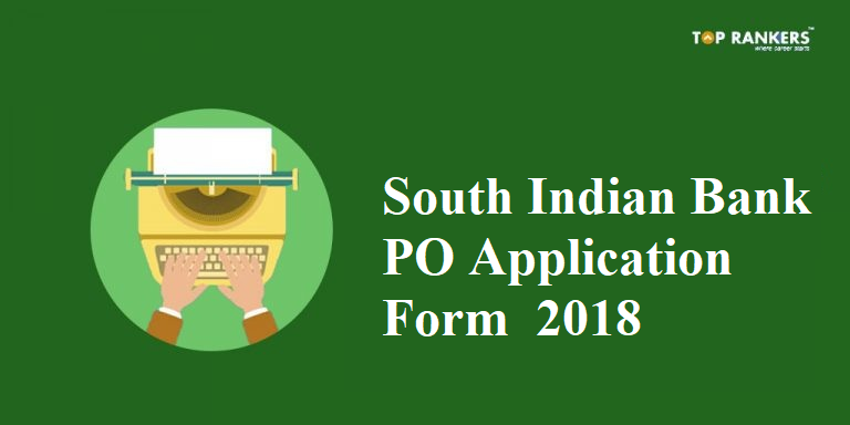 South Indian Bank PO Application form