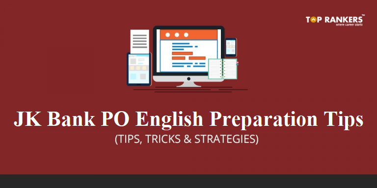 JK Bank PO English Preparation Tips