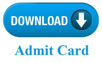 SSC Selection Post Admit Card 2019