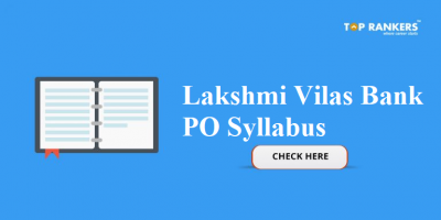 Lakshmi Vilas Bank PO Syllabus 2018
