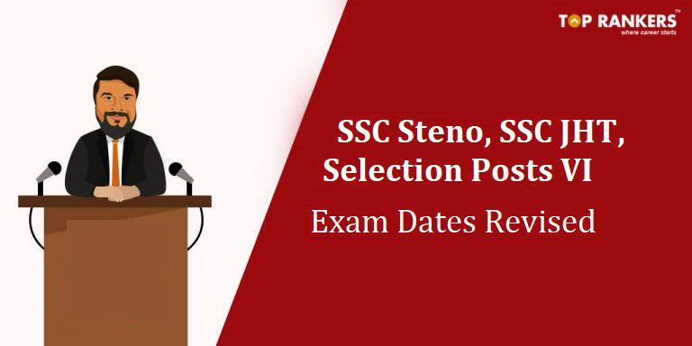 SSC Notice | Latest Update on SSC JHT, Stenographer and Selection Posts!