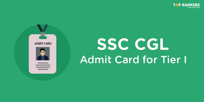 SSC CGL Admit Card 2018 for Tier I
