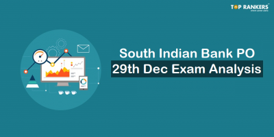South Indian Bank PO Exam analysis 2018 | Questions Asked 29th December