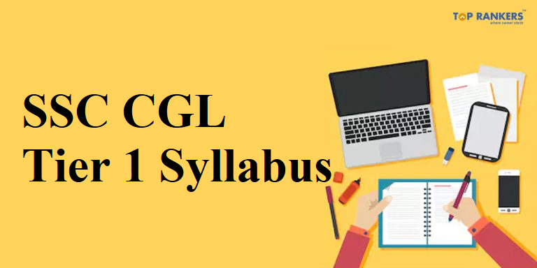 SSC CGL Tier 1 Syllabus