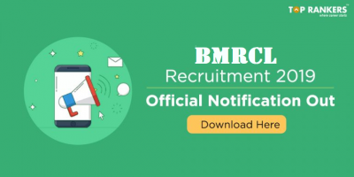 BMRCL Recruitment 2019 | Apply for Bangalore Metro Rail Recruitment