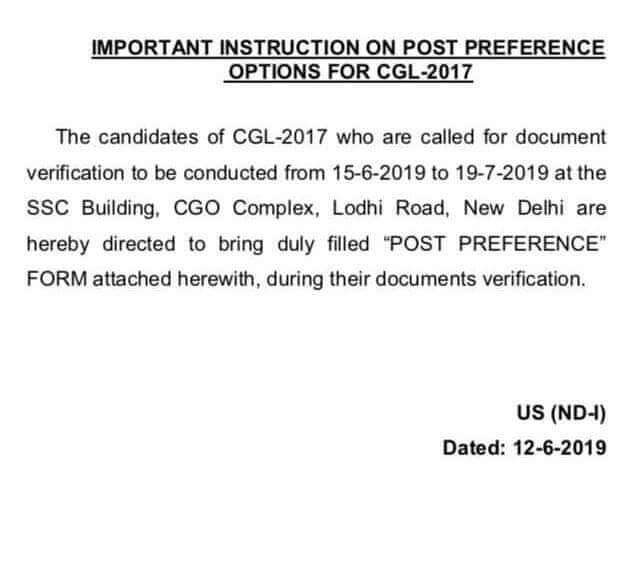 ssc cgl exam dates