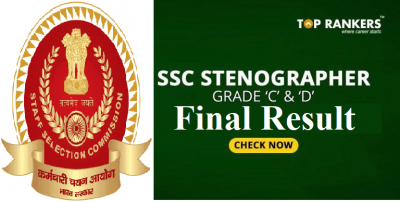 SSC Stenographer Result 2018-19 Released!