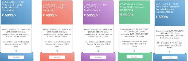 CLAT 2019 - Live Online Coaching by legaledge