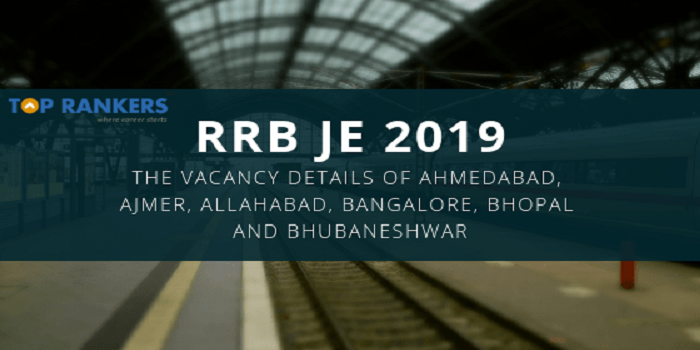 RRB JE 2019 vacancy