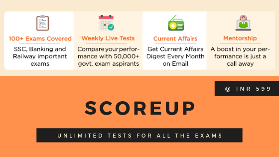 RBI Grade B Scorecard - ScoreUp unlimited Mock Tests