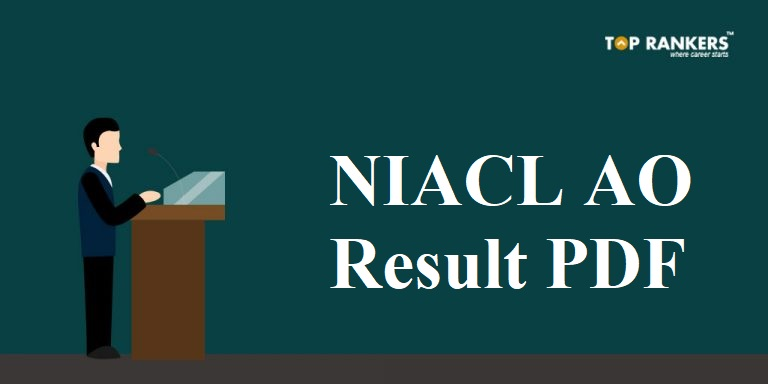NIACL AO Result PDF 2018 for Phase 1