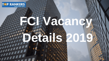 FCI Manager Vacancy 2019