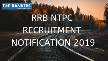 RRB NTPC Recruitment 2019 | Official Notification