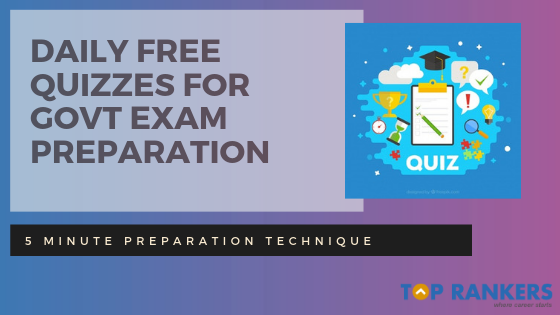 Daily Job Alert- Daily Quizzes- Govt Exam Preparation