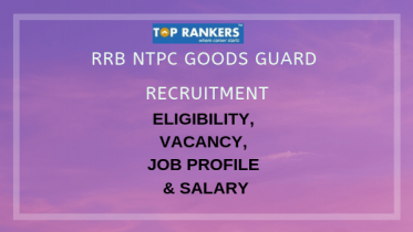 RRB Goods Guard Recruitment 2019