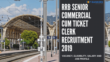 RRB Senior Commercial cum Ticket Clerk Recruitment 2019 |