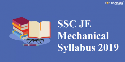 SSC JE Mechanical Syllabus 2019 | Important Topics and Sample Questions
