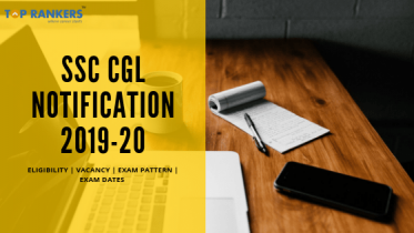SSC CGL Notification 2019-20