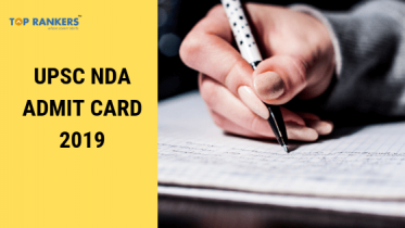 UPSC NDA Admit Card 2019